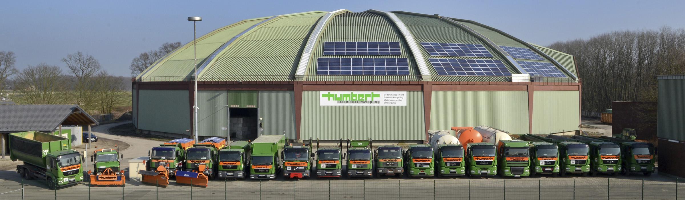 Humbert Baustoff-Recycling GmbH Rundhalle Dorsten